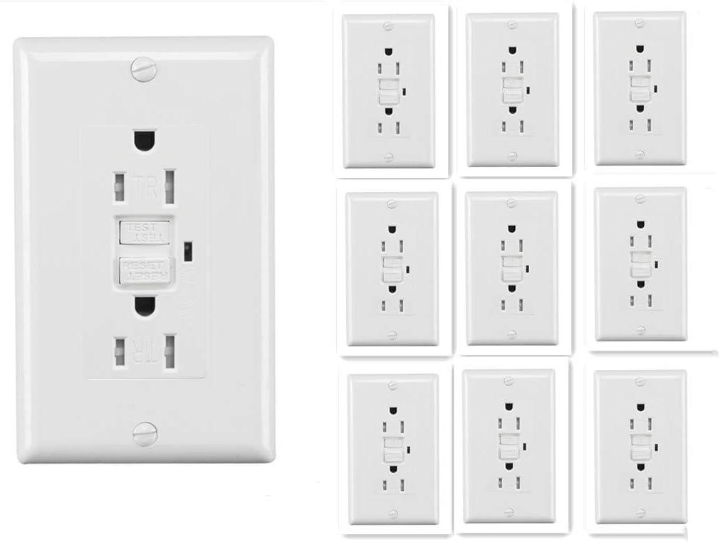 UL2015 Mail order Self-Test GFCI Duplex Electrical Resistant Tamper outlet 2021 new