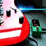 RONSHIN Guitar Stompbox Zinc Alloy Precision Tuner Guitar Effect Pedal Stompbox