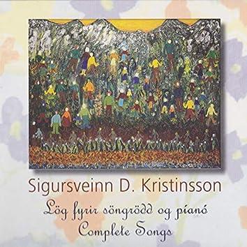 Sönglagasafn Sigursveins D. Kristinssonar
