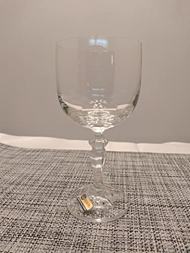 Copa de vino 200 ml cristal Bohemia modelo Marianna liso