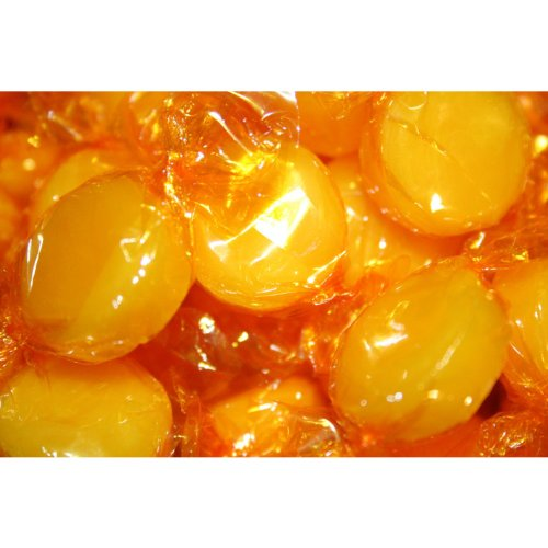Butterscotch Buttons Hard Candy, 1 Lb