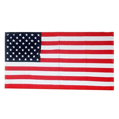 Suave Absorbente Playa De Impresión De Microfibra Toalla De Baño Toalla De Piscina - Bandera Americana