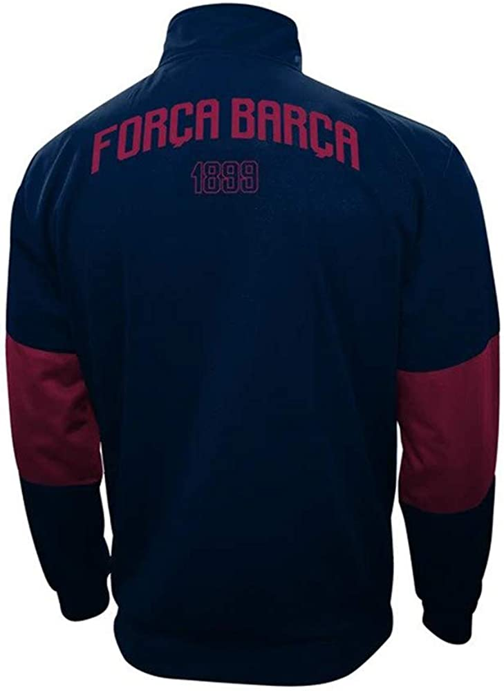 Barcelona jacket kids Jacket Official Soccer Gift for Boys Youth official new season set 2020-21