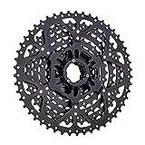 FYLYHWY MTB 9 Velocidad 11-50T CASSETE Bicicleta MONTAÑA BICIDO Persona 9V K7 Negro Freewheel 9s Pandillas Compatible con for Shimano M430 M4000 M590 (Color : 9s 50T Black)