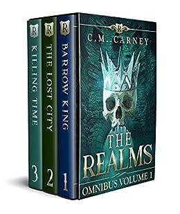 The Realms Boxed Set Volume 1 (Books 1 - 3): (An Epic GameLit/LitRPG Portal Fantasy Adventure) (The Realms Omnibus)