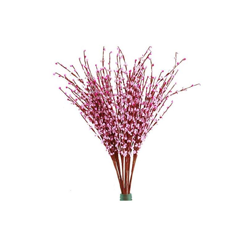 "silk flower arrangements misswarm 10 pieces 29.5"" long of jasmine artificial flower artificial flowers fake flower for wedding home office party hotel restaurant patio or ya"