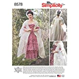 Simplicity US8578D5 Women's 18th Century Dress Historical Costume Sewing Pattern by American Duchess, Sizes 4-12