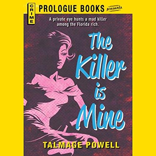 The Killer Is Mine audiobook cover art