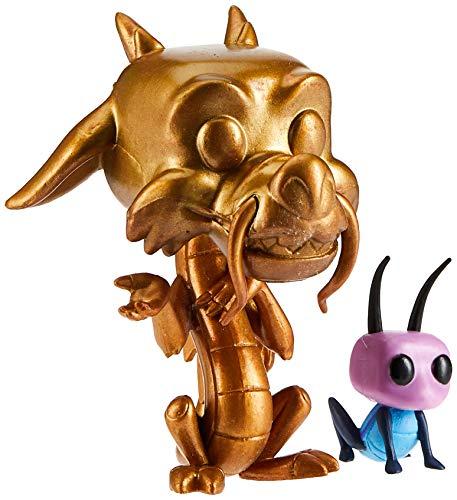 Funko POP!: Disney: Mulan: Mushu & Cricket Exclusivo