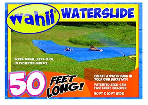 Wahii Waterslide 50' - World's Biggest Backyard Lawn Water Slide