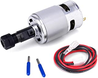 775 DC Motor, 12V-24V 10000 RPM Mini Electric Motor, Double Ball Bearing Large Torque High Power Motor for DIY Parts