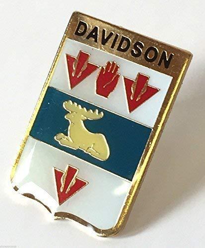 Écosse Famille Clan Nom Davidson Aigrettes Badge