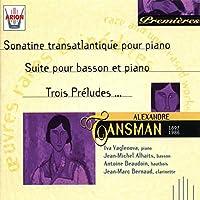 Sonatine Transatlantique Pour Piano