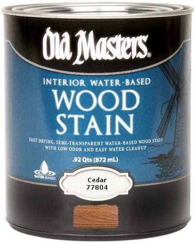 Old Masters 210277 77804 Qt outlet Cedar Based Stain Water Wood Animer and price revision