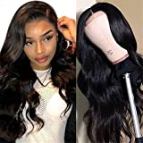 MDL Brazilian Virgin Hair 30inch 4x4 Lace Closure Human Hair Wigs Body Wave Pre Plucked Unprocessed Remy Human Hair lace front wigs with Baby Hair Natural Color
