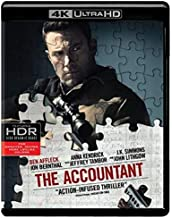 the accountant 4k ultra hd blu ray digital hd