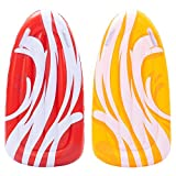 JOYIN Inflatable Boogie Boards for Kids Swimming Pool Floating Toys, Learn to Swim Water Boards Pack of 2