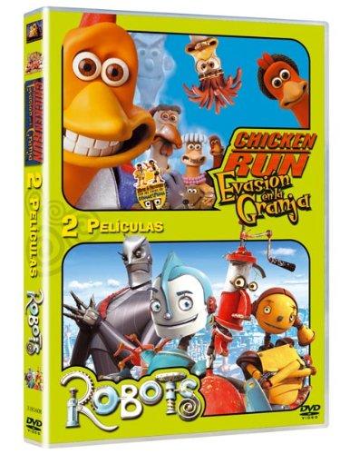 Robots + Chicken Run - Duo [DVD]