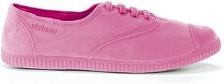 victoria Women's Inglesa Tintada Monocromo Low-Top Lace Up Canvas Fashion Sneaker