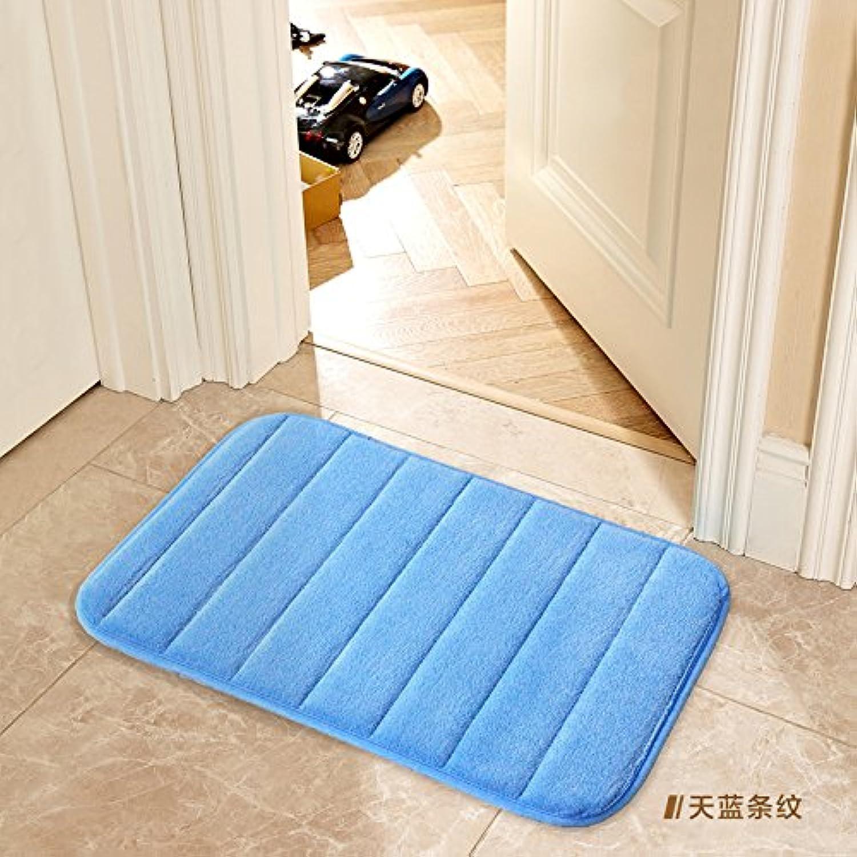 JinYiDian'Shop-Door Mat Matting Bathroom Floor Mat 50×80Cm, 2,005 Streaks