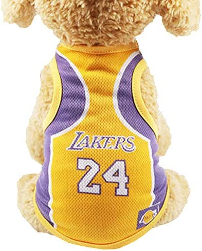 Dog Clothes Dog Shirt Breathable Puppy Sportswear Vest Soft Puppy Shirts Cool Pet Clothing