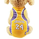 Dog Vest Basketball Jersey Cool Breathable Pet Cat Clothes Puppy Sportswear Spring/Summer Fashion Cotton Dog Shirt