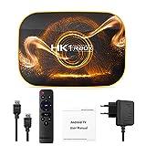 JIACUO y roid 10.0 TV Box HK1 RBOX 4GB 64GB TVbox Smart TV Box Quad-Core RK3318 4K 60fps USB3.0 Set Top Box