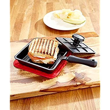 Cast Iron Panini Sandwich Press