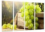 Poster Fotográfico Uvas, Vino Blanco, La Rioja, Bodegas Tamaño total: 131 x 62 cm XXL, Multicolor