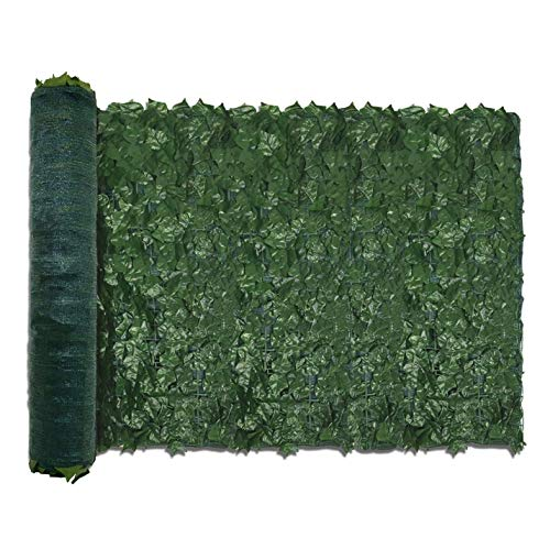 TANG by Sunshades Depot 39' x 117' inch Artificial Faux Ivy Privacy Fence Screen Leaf Vine Decoration Panel with 130 GSM Mesh Back