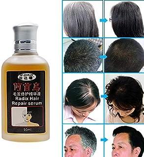 1 piece Hair grows essential oils Hair Loss Liquid 20ml dense hair Polygonum multiflorum man woman