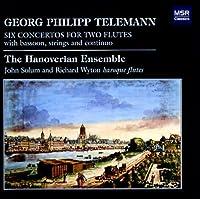 Telemann: Six Concertos for Two Flutes