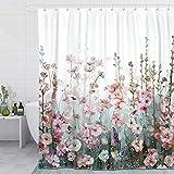 SUMGAR Curtain Set (Flor Rosa)