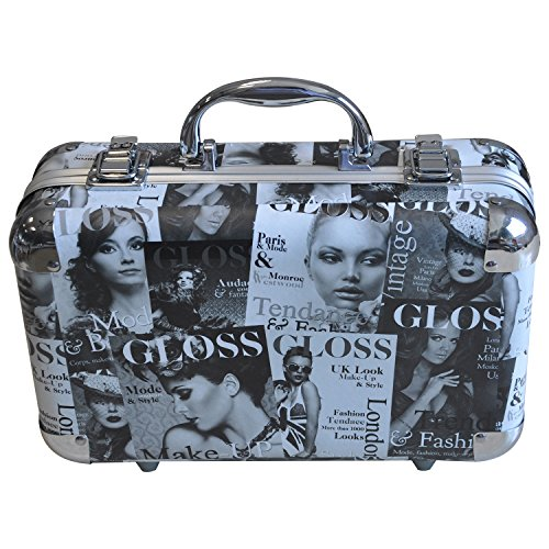 Gloss - Mallette de maquillage XXXL incluant 4 vernis - Design Beauty Tendance