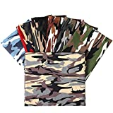 Picheng Fat Quarter Camouflage-Druck, 100 % Baumwolle,