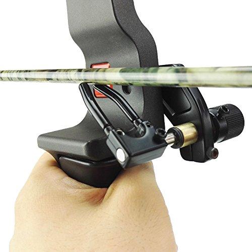 e5e10 1PCS Archery Arrow Rest Compound Bow Accessory for RH Type Recurve Bow Hunting Right Hand Arrow Shooting Aecessory