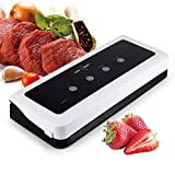 meat packing machine - Vacuum Sealer Machine, White Dolphin Food Sealers Packing Meat Seal a Meal Saver Automatic with 10 Bags Start Kit