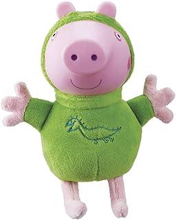 Peppa Pig - Peluches con luz Glow Friends George (Bandai 06917)