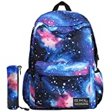 Galaxy Backpack Kids Backpack Boys and Girls Backpack for Elementary School