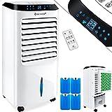 KESSER® 4in1 Mobile Klimaanlage Perl-Weiß | Fernbedienung | Klimagerät | Ventilator Klimaanlage | 10 L Tank | Timer | 3 Stufen | Ionisator Luftbefeuchter | Luftkühler |