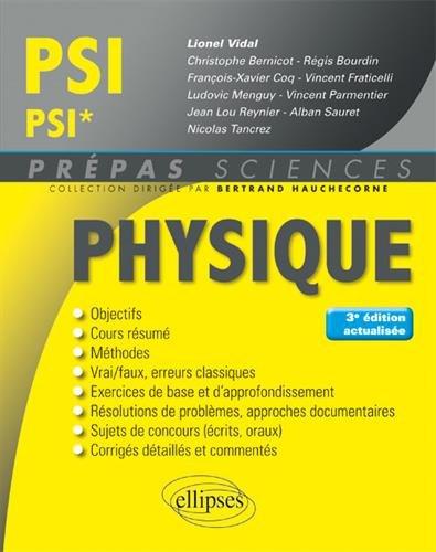 Physique PSI/PSI*