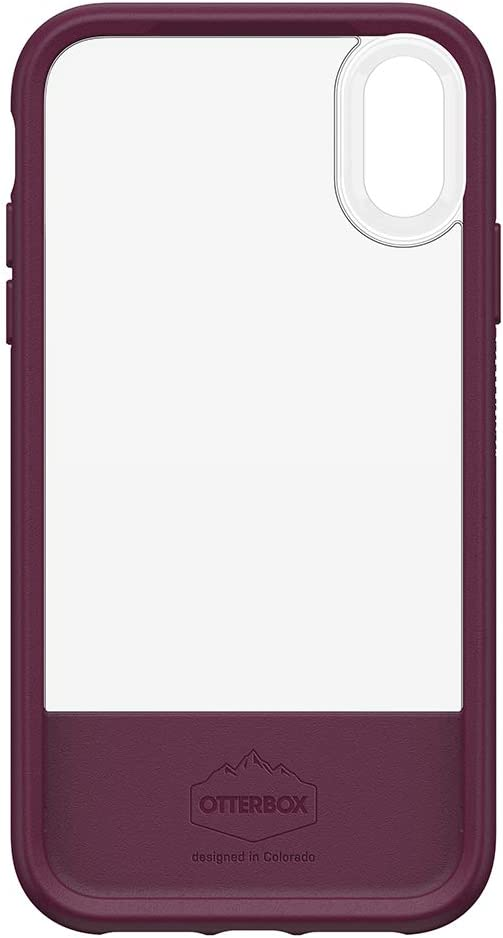 OtterBox STATEMENT SERIES Case for iPhone XR -LUCENT MAGENTA (CLEAR/BOYSENBERRY/ORCHID)