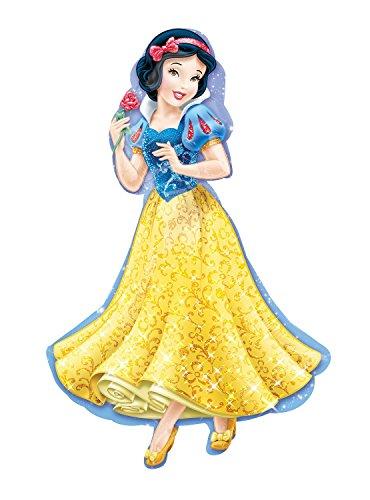 Amscan Anagram 2847401 - Globo con forma de superforma de Disney Snow White - 37 pulgadas