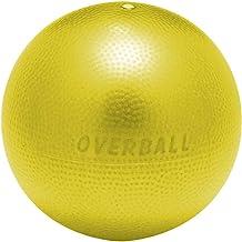 ギムニク(GYMNIC) 小さい バランスボール ソフトギムニク 表面凹凸有 イエロー 黄 23cm 特製小冊子付