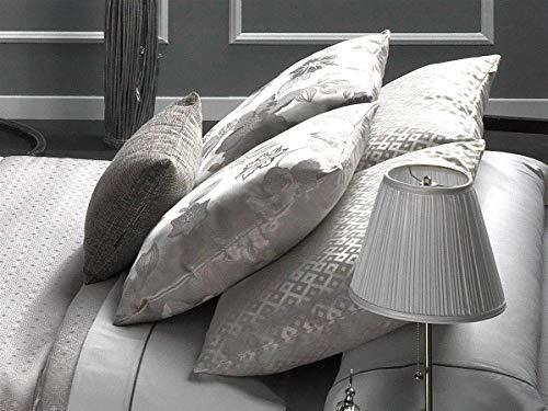 CAÑETE - Cojín VALENZA A 50x50 cm - Color Plata