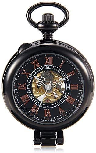 Reloj De Bolsillo Retro Pistola De Color Suaves Gráficos Reloj Mecánico De Los Hombres Y Las Mujeres De Pared Creativo Mecánico Creativo Lente De Cristal Del Reloj Reloj De Bolsillo De La Vendimia