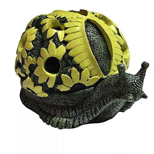 X-D caracol cenicero figura decorativa para decoración de casa regalo original
