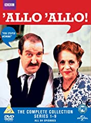 Allo Allo! (Complete Collection - Series 1-9) - 16-DVD Box Set ( Allo 'Allo! (84 Episodes) ) Allo Allo! (Complete Collection - Series 1-9) - 16-DVD Box Set Allo 'Allo! (84 Episodes)