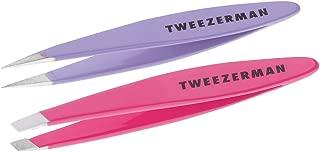 Tweezerman Mini Oval Slant and Point Combo