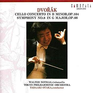 Dvořák: Cello Concerto & Symphony No. 8